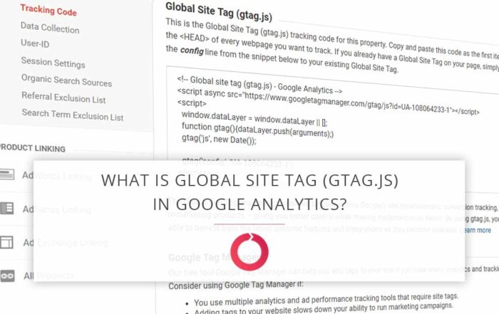 What is global site tag in Google analytics